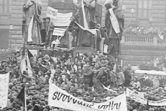 20 de ani de la declansarea Revolutiei de Catifea