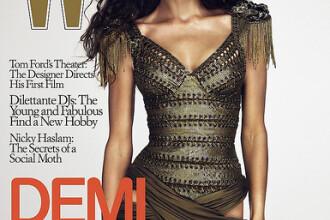 Demi Moore riposteaza: pozele cu mine nu sunt retusate in Photoshop!