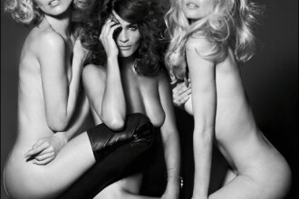 Eva Herzigova, Helena Christensen, Claudia Schiffer! GOALE, din nou