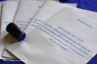 Amendat cu 1.000 de lei, pentru ca si-a fotografiat buletinul de vot!
