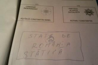 Eu cu cine votez? Cum cu cine?! Cu State! State de Romania!