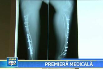 Premiera! Medicii au reconstruit o tibie, din alte oase si celule stem