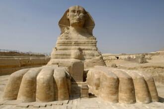 Au fost descoperite zidurile Marelui Sfinx! In Egipt, langa Piramide