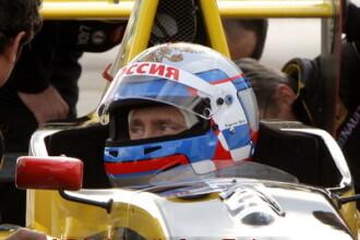 Pilotul Vladimir Putin a condus o masina de Formula 1 cu 240 km/h