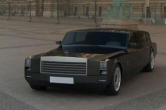 Ce limuzina i se pregateste presedintelui Rusiei! FOTO