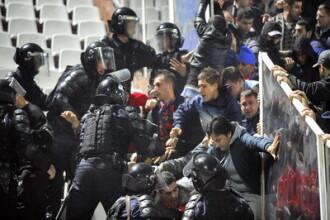 Sapte dosare penale in urma violentelor de la meciul Steaua-Rapid