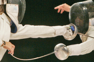 Echipa feminina de spada a Romaniei a castigat medalia de aur la CM
