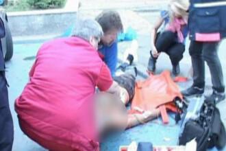 Locul asasinatului de la Piatra Neamt arata ca la abator! Vezi VIDEO!