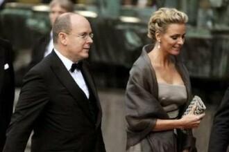 Printul Albert de Monaco si-a scos aleasa in lume, de ziua principatului