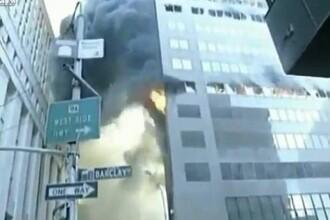 Imaginile care contrazic teoria conspiratiei.De ce s-a prabusit una din cladirile World Trade Center