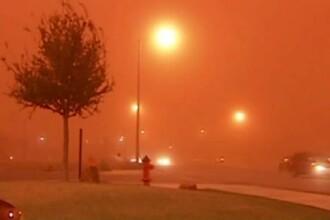 Un fenomen neasteptat a facut din zi noapte, in mai multe orase din Statele Unite
