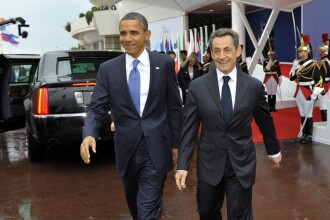 Barack Obama catre Sarkozy: