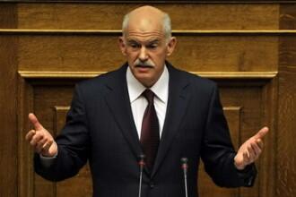 Grecia se cutremura, la propriu, in ziua deciziei care salveaza tara. Papandreou va demisiona