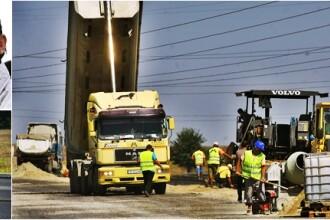 Autostrada Bucuresti-Ploiesti: muncitorii sunt harnici doar cand sunt filmati. VIDEO