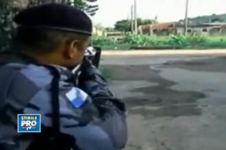 Si-a filmat propria moarte. Ultimele momente din viata unui cameraman brazilian. VIDEO