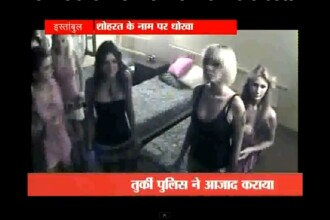 VIDEO. Noua femei tinute ostatice intr-o casa Big Brother falsa au ajuns dezbracate pe internet