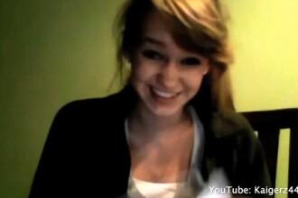 Fata care zambeste intr-un clip tulburator. Mesajul catre mama ei a zguduit internetul. VIDEO
