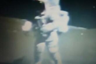 VIDEO amuzant. Imagini pe care NASA nu le-a difuzat pana acum. Afla de ce