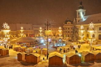 Craciun la Sibiu. S-a deschis cea de-a sasea editie a targului dedicat saratorilor de iarna