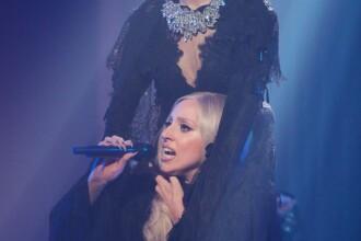 FOTO si VIDEO. Cea mai socanta aparitie a lui Lady Gaga. Vezi costumatia ei incredibila