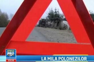 Cum i-a salvat o televiziune poloneza pe 2 romani care au stat 6 zile pe marginea drumului