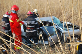 Accident mortal pe DN 7, intre Orastie si Sebes. Un sofer si-a pierdut viata