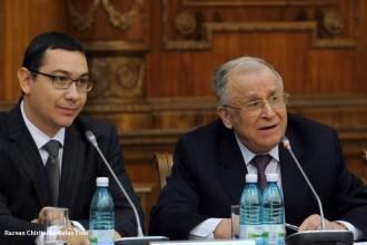 Iliescu: Geoana a fost de o obraznicie fara seaman. Ponta: Este o despartire pentru moment
