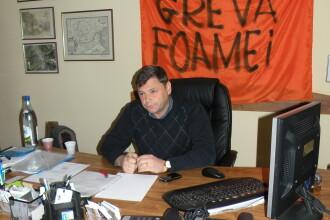 Primarul din Brad, Florin Cazacu, a iesit din greva foamei