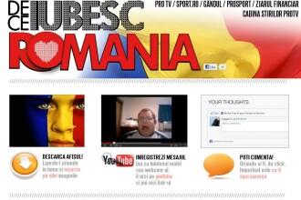 De ce iubesc Romania. Roxana Ionescu: