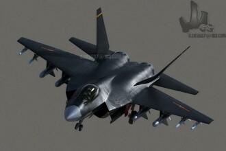 Bombardier invizibil pe radar, testat in China. Un astfel de aparat militar mai detine doar SUA