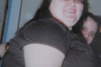 O femeie a reusit sa slabeasca 75 de kilograme in 8 luni.