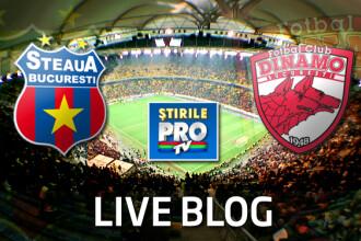 Steaua - Dinamo, 3-1 LIVE BLOG: