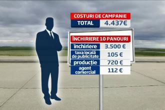 PRETUL campaniei electorale. Candidatii investesc bani buni pentru un loc in Parlamentul Romaniei