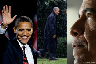 Barack Obama, mandatul singurului presedinte afro-american al SUA, in imagini. GALERIE FOTO