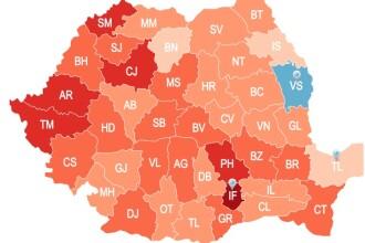 INFOGRAFIC. Cum arata de fapt Romania. Cea mai noua harta demografica