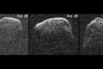 Imagini spectaculoase de pe radar cu asteroidul care a ajuns mai aproape ca niciodata de Pamant