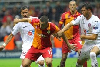 CFR Cluj - Galatasaray, 1-3. CFR mai spera doar la primavara in Europa League