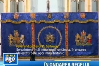 Regele Mihai, primul monarh al carui blazon este expus in capela privata a reginei Marii Britanii
