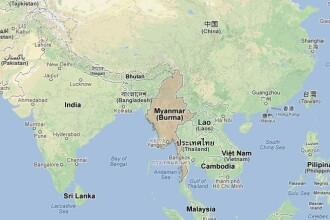 Cutremur cu magnitudinea de 6,6 in Myanmar, soldat cu cel putin 13 morti si zeci de raniti