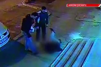 IMAGINI SOCANTE. Politist batut in plina strada. Colegii lui trec pe langa el, dar nu intervin.VIDEO