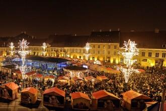 Targul de Craciun din Sibiu isi deschide portile in 24 noiembrie