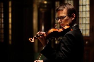 Concert caritabil sustinut de violonistul Alexandru Tomescu pentru copiii din orfelinate