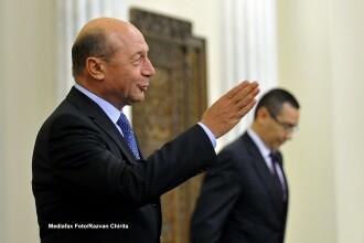Basescu: Cand vine la mine, Ponta e ca un pisicut.Antonescu a pierdut orice sansa de a fi presedinte