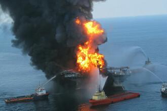 Amenda record de 4,5 miliarde de dolari pentru poluarea cu petrol a Golfului Mexic