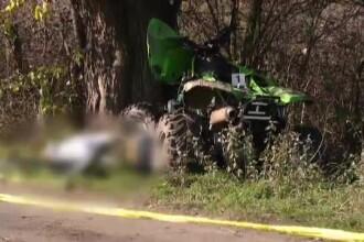 Baiat de 16 ani, mort dupa cursa nebuna pe un ATV. Prietenul alaturi de care gonea a fugit