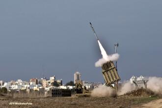 Conflictul dintre Israel si Hamas, un test pentru sistemul antiracheta israelian