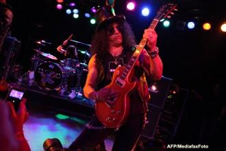 Slash se intoarce in Romania. Concert la Arenele Romane din Bucuresti, pe 28 iunie