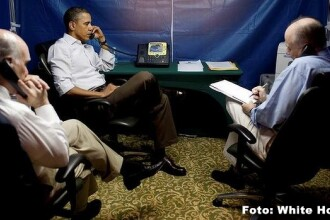 Razboiul spionajului. Singurul loc in care Obama vorbeste fara teama de supraveghere este un cort