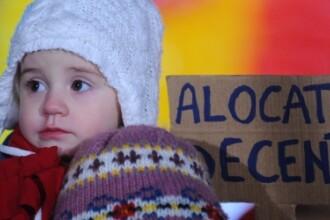 Senatorii din Comisia de munca propun indexarea alocatiei de stat pentru copii, din 2014