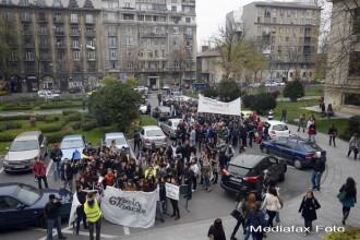 Proteste ale studentilor in mai multe orase din tara. Mihnea Costoiu: Vom vorbi cu rectorii